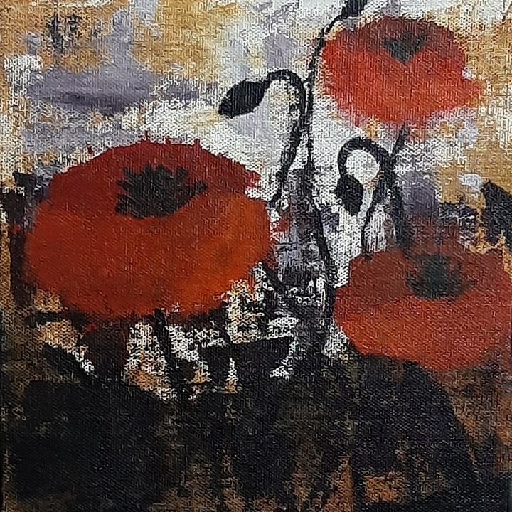 Abstract Red Rose - Tejal Bhagat
