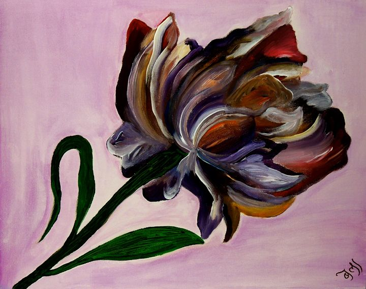 Purple Flower - Spring Awakening