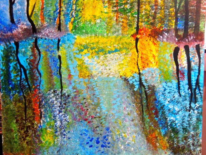 Fall Reflections - Spring Awakening