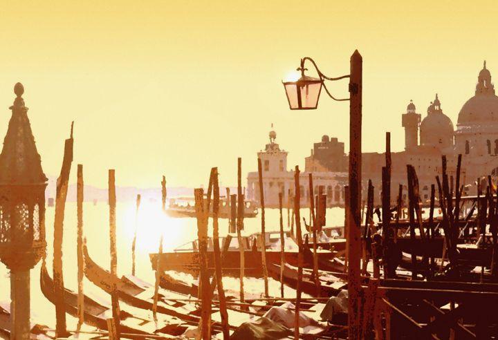 Venetian Taxis - Mike-e-Art