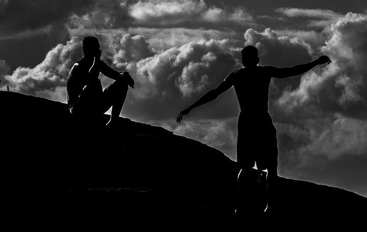 Danza con nubes - J.O.Corradini