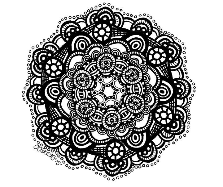 Circle of circles - ooakers