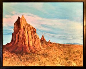 Shiprock Monument - Brockmon Fine Art
