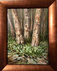 The Three Birches I Watch Each Year