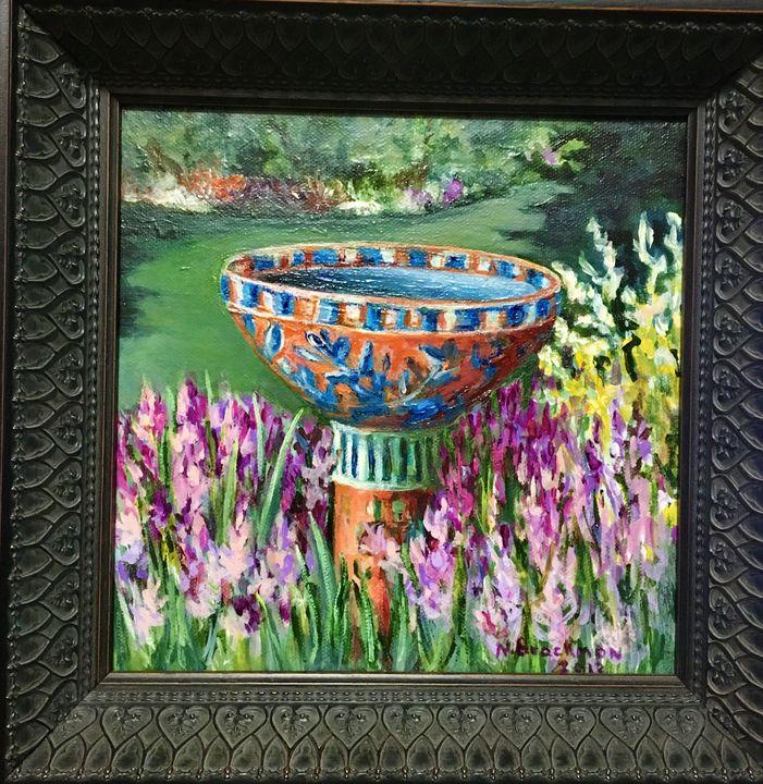 Garden Birdbath - Brockmon Fine Art