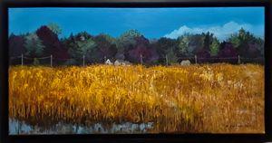 HIgh Summer at Tinicum Marsh - Brockmon Fine Art