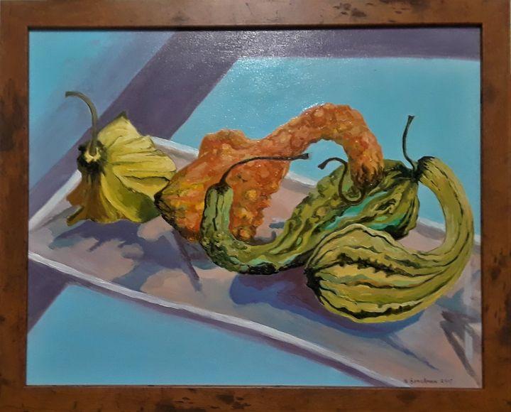 Fall Bounty for the Table - Brockmon Fine Art