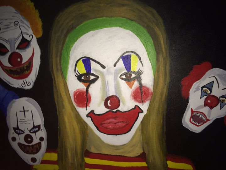 Living in ClownTown - Leah Robinson