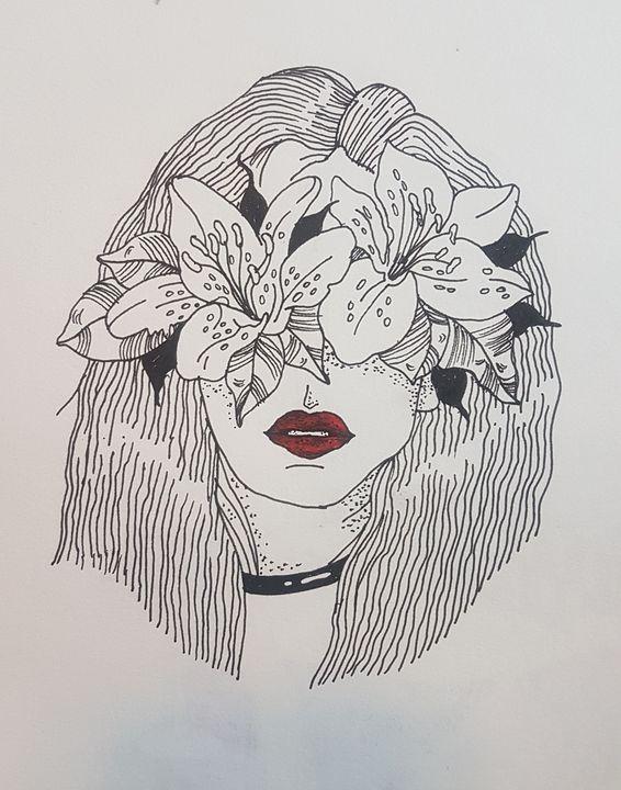 Flower girl - Manvi