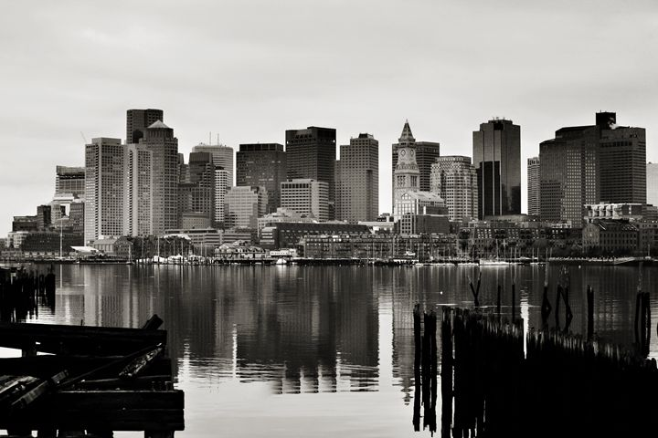 Boston In Reflection - Kristopher Ventresco