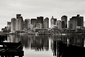 Boston In Reflection