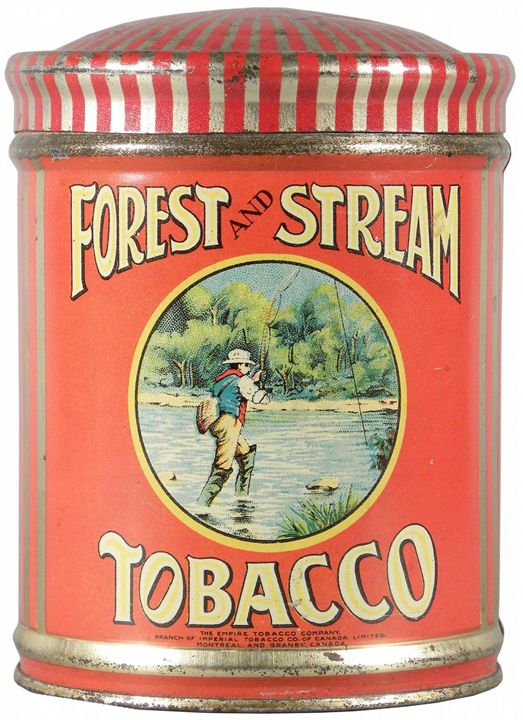 Forest and Stream Tobacco - paintings