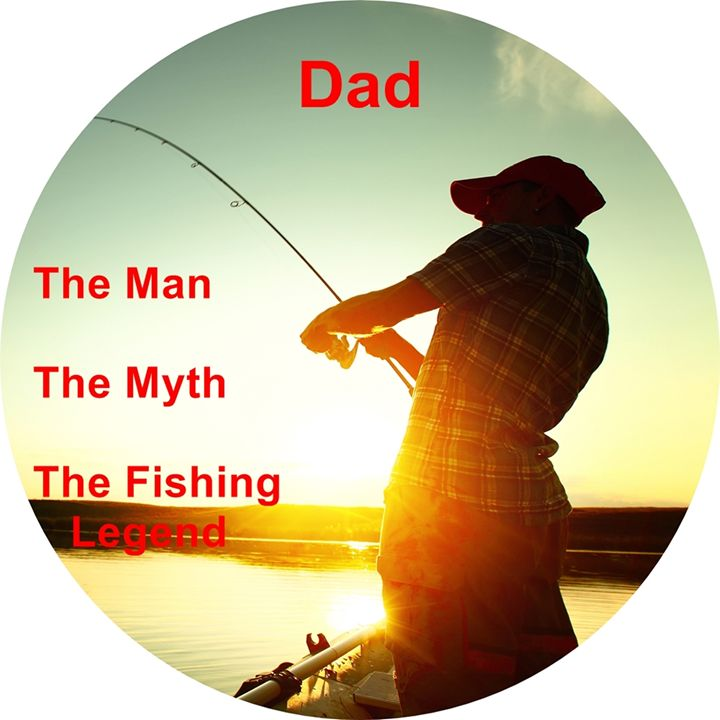 Dad, the man, the myth, the fishing - paintings