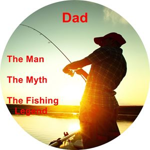 Dad, the man, the myth, the fishing