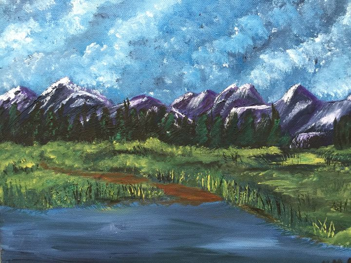 Hazy Mountains - ArtisticFlare