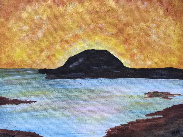Deco Sunrise - ArtisticFlare