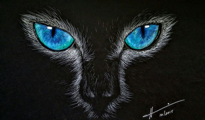 Cat's Eyes - Hannia Smith