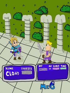 Link vs Cloud - Mr.O's Art!