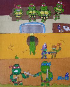 TMNT Battle Royale - Mr.O's Art!