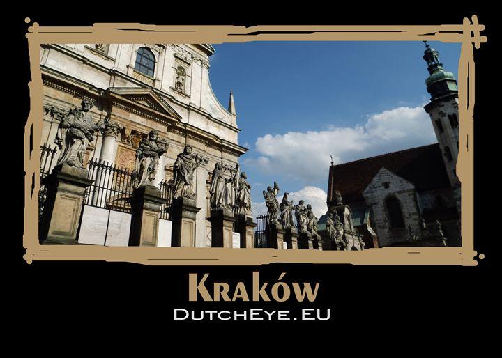 Krakow statue - Z - DutchEye.EU