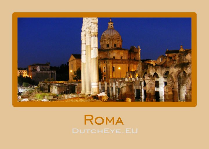 Roma by night - I - DutchEye.EU