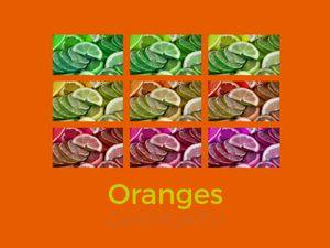 Oranges - O