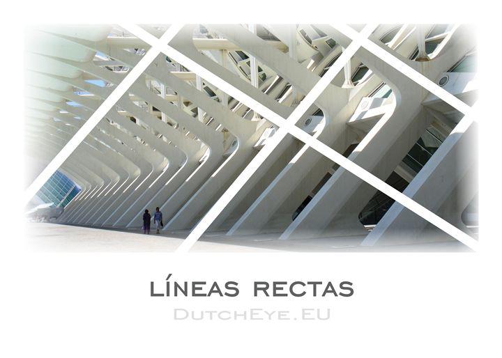Lineas Rectas - W - DutchEye.EU