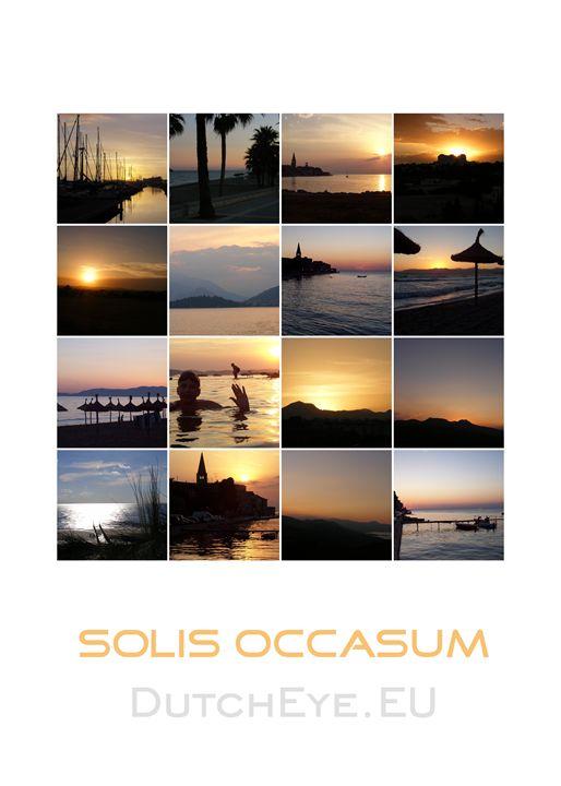 Solis occasum - W - DutchEye.EU