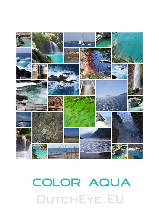 Color aqua - W - DutchEye.EU