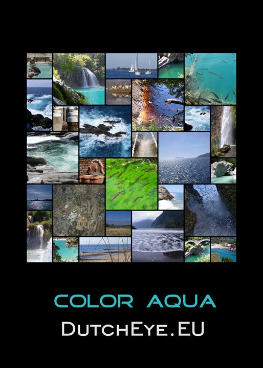 Color Aqua - Z - DutchEye.EU