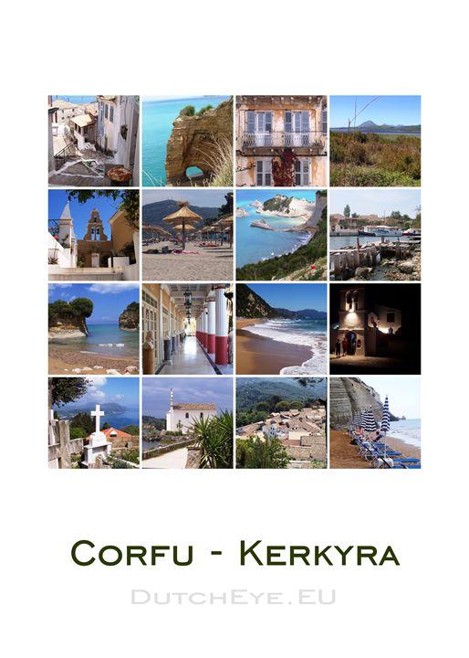 Corfu - Kerkyra - W - DutchEye.EU