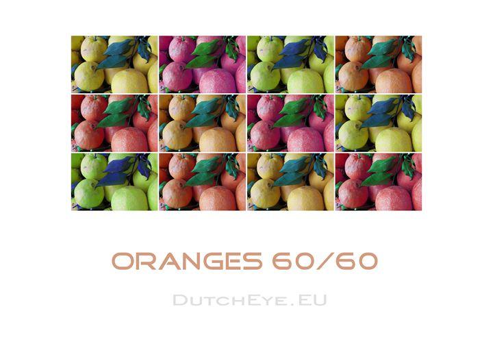 Oranges 60/60 - W - DutchEye.EU