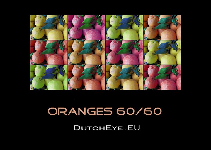 Oranges 60/60 - Z - DutchEye.EU