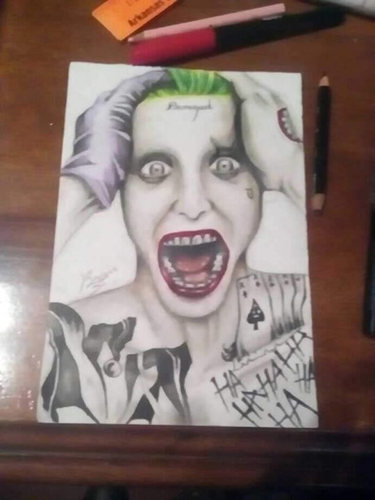 Tha Joker Suicide squad - M BrowN( Young Art)