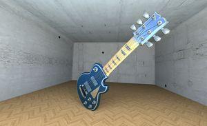 a music guitar - Blender 2.72