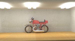 Motorbike Yamaha - Gooorylin