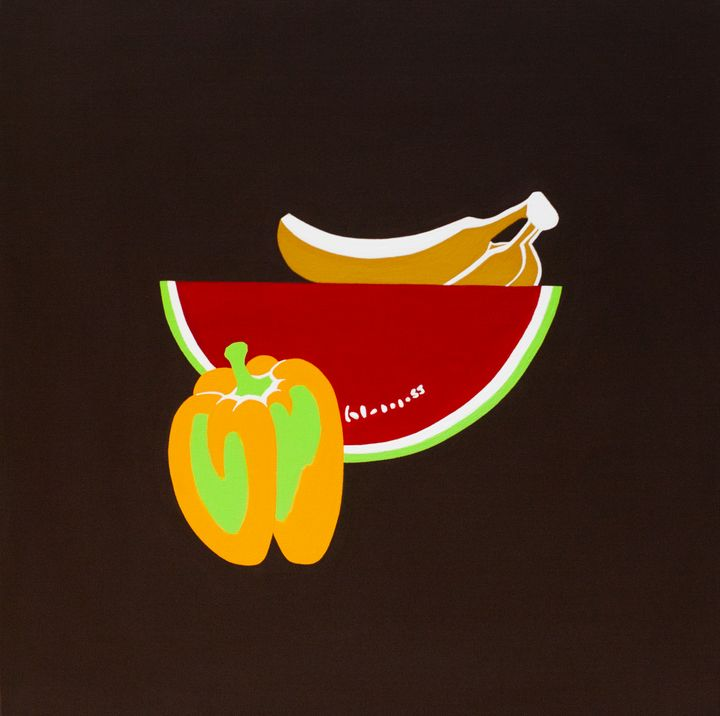 Banana, Watermelon and Bell pepper - april sj choi