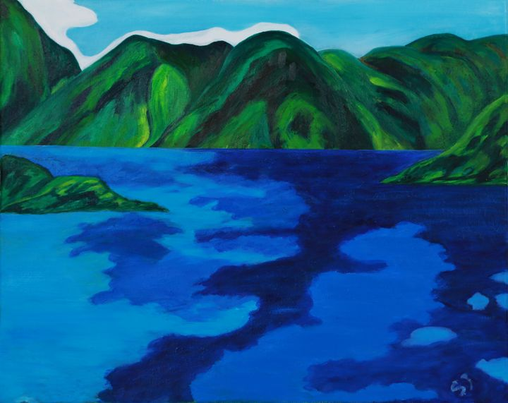 The Fraser River in Hope - april sj choi