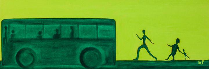 Catch the Bus - april sj choi