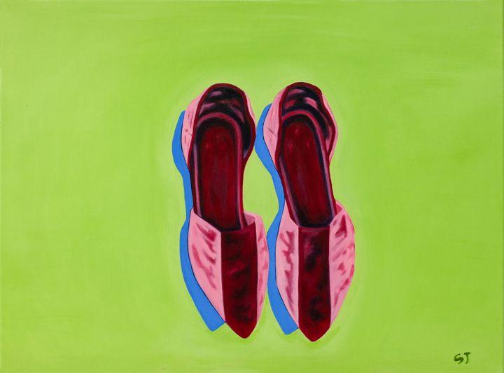 Shoe Still Life-2 - april sj choi