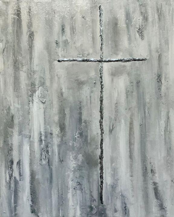 Keep the Faith - Up and Down Art by Kim Mlyniec