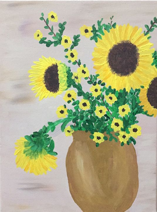 Sunny Days - Up and Down Art by Kim Mlyniec