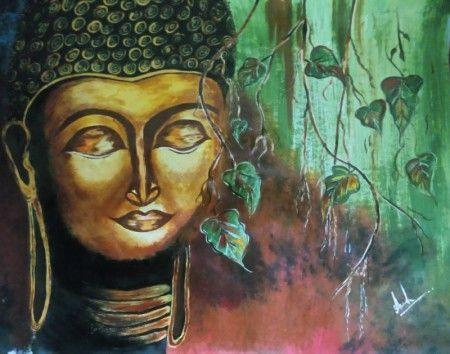 Gautama Buddha - Aakash's painting and sketching