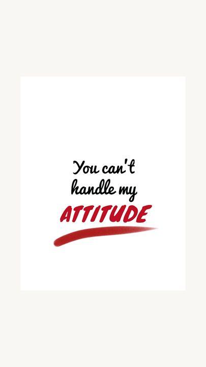 ATTITUDE - Hemangi_Mungad