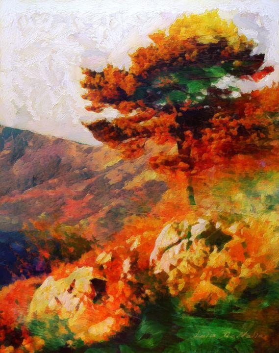 Mountain Tree - Lelia DeMello