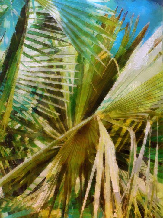 Tropic Fronds - Lelia DeMello
