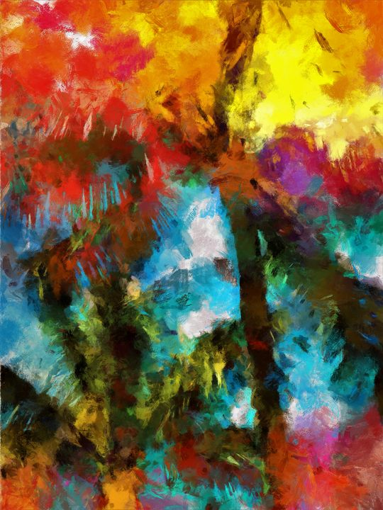 Abstract Palm - Lelia DeMello