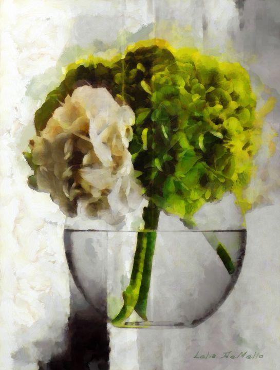 Fresh Flowers No 5 - Lelia DeMello