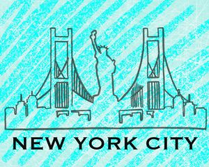 New York City Skyline - Selections By Sonia