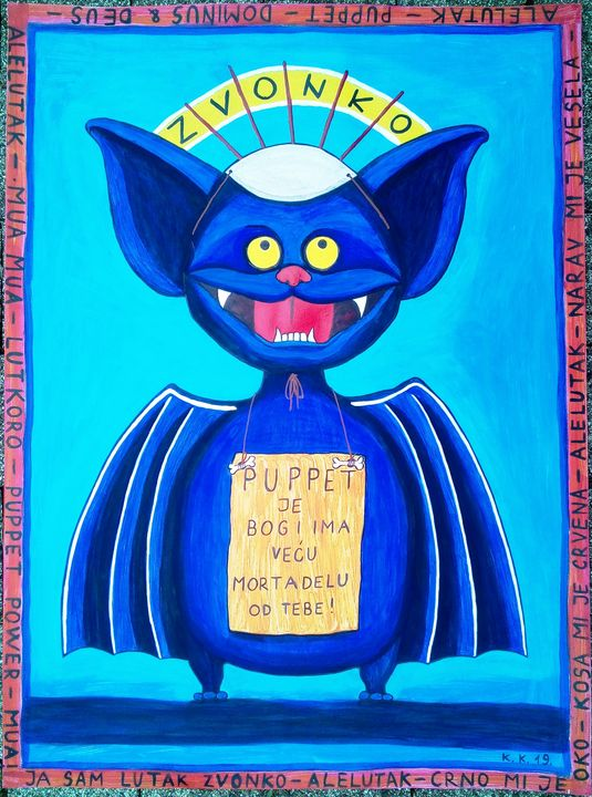 The Baty speaks to you, outsider art - Outsider art and stories gallery by oldbone